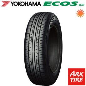 【取付対象】 2本セット YOKOHAMA ヨコハマ エコス ES31 215/55R16 93V 送料無料 タイヤ単品2本価格