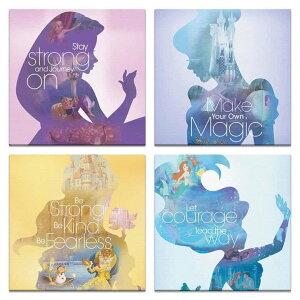 【アートデリ】ディズニープリンセスの壁掛けアートセット...