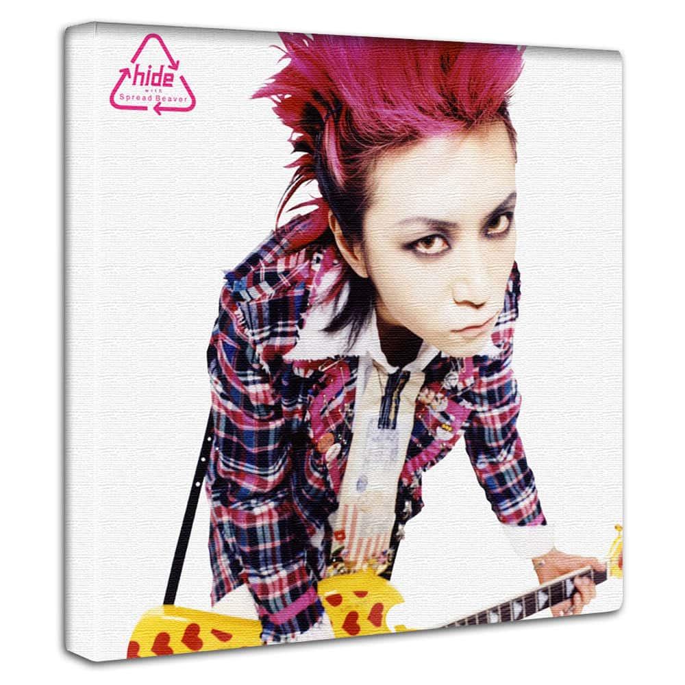 【アートデリ】hide ヒデ(X JAPAN エックス・ジャパン)のアートパネル
