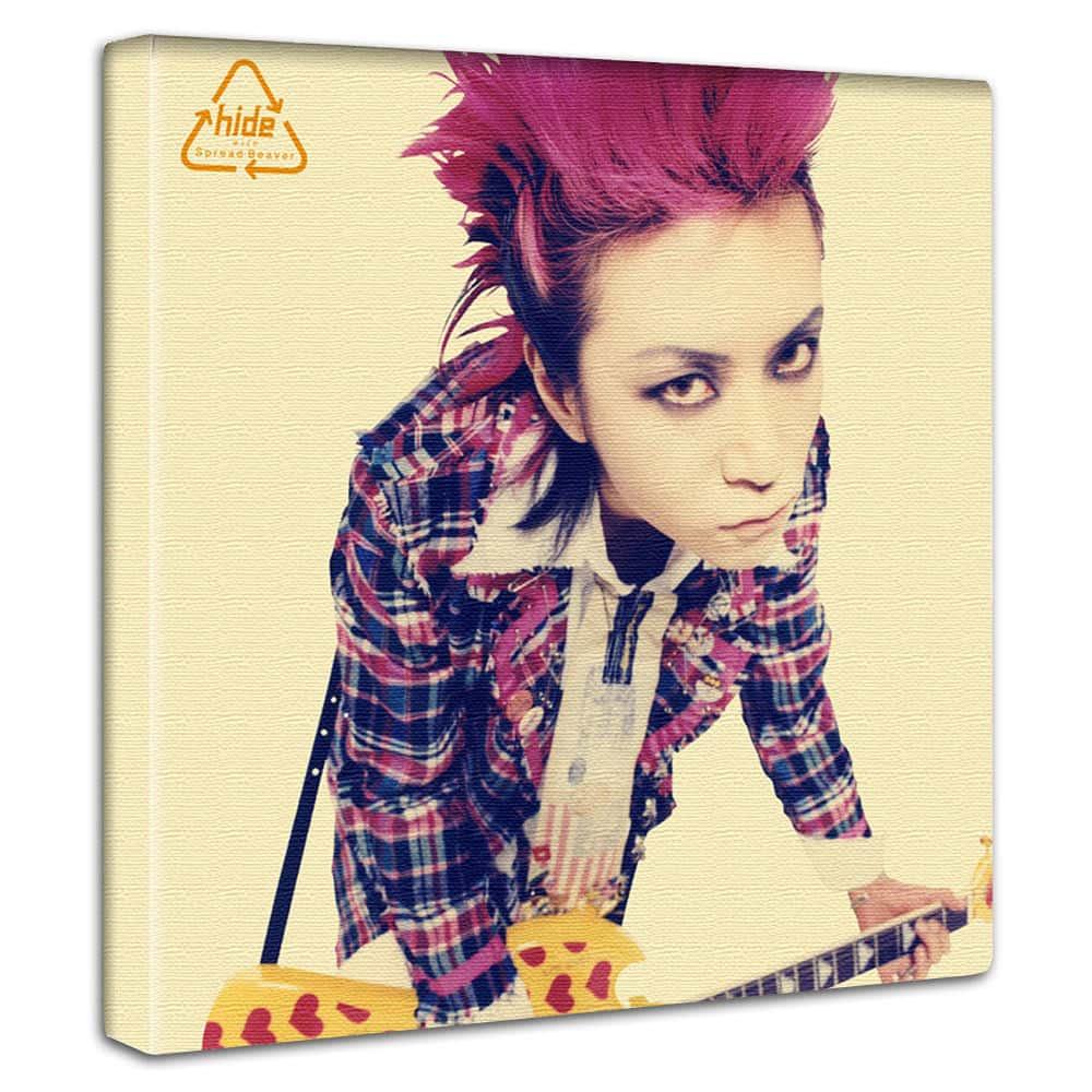 【アートデリ】hide ヒデ(X JAPAN エックス・ジャパン)のインテリアパネル