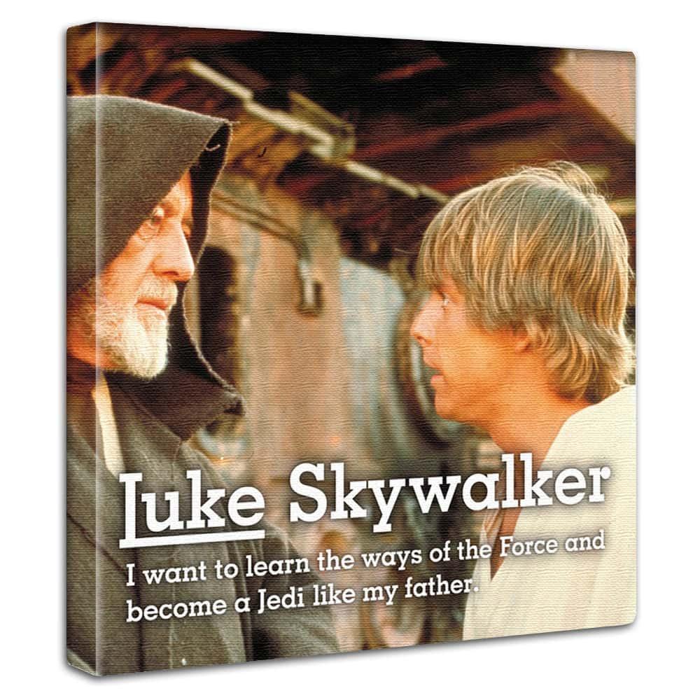 【アートデリ】「ルーク・スカイウォーカー」スターウォーズのファブリックボード インテリア アート 雑貨