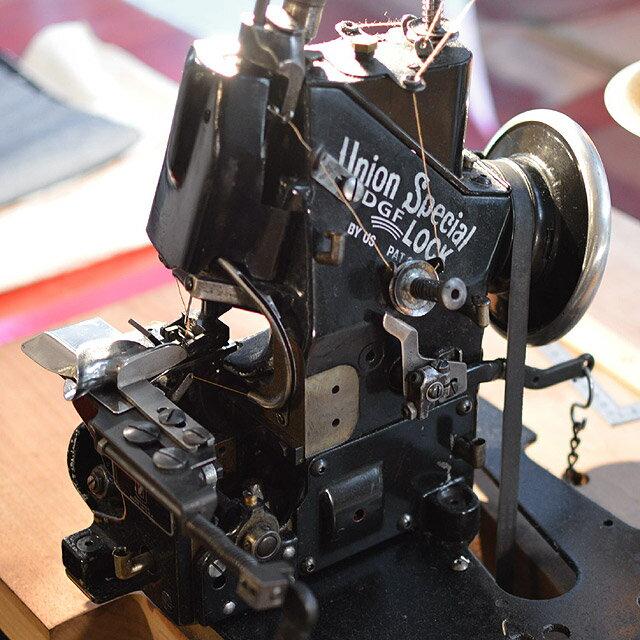 チェーンステッチ裾上げ ミシン ユニオンスペシャル 43200G 綿糸を使用したアタリの出やすいヴィンテージ仕上げ (3.5cm以上カット)