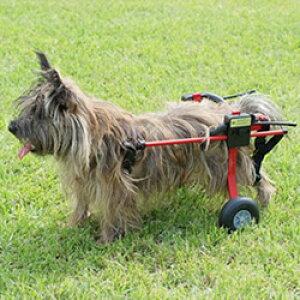 犬の車いす 送料無料 K-9 Carts スタンダード 後脚サポート車椅子 XS・猫 小型犬用 介護用品・車椅子 関節 腰 後足【現品限り】