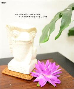 蓮の花(造花)<8カラー>IMF-0039【アジアン雑貨バリ雑貨はすロータス造花ディスプレイ飾りかわいいおしゃれ睡蓮鉢】
