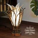 照明おしゃれ<フロアランプフロアスタンド>ココヤシ&フラワーアジアンランプ(ホワイト)LAM-0092-WHアジアンランプ照明おしゃれバリランプアジアンテイスト間接照明LED対応フロアスタンドライトフロアランプおしゃれ寝室