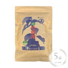 【リニューアル】因島杜仲茶150g(5g×30)5袋セット【農薬不使用】