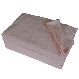 フェイスタオル 12枚 セット ピンク 34x85cm 無地 業務用タオル タオル 業務用 フェイス タオル 250匁 サロン 美容室 美容院 タオル まとめ買いで 送料無料 業務用タオル 200匁 以上