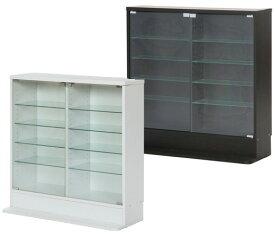 コレクションケース コレクションラック 大型 棚 コレクションキャビネット 時計 黒 白