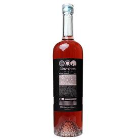 Cfaバックヤードワイナリー Diavolette-HAL マスカット・ベーリーA ロゼ 750ml 日本ワイン 栃木県産 国産[mba]