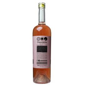 Cfaバックヤードワイナリー Diavolette-NOD マスカット・ベーリーA ロゼ 750ml 日本ワイン 国産[mba]