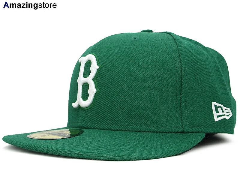 NEW ERA BOSTON RED SOX 【TEAM-BASIC/GREEN-WHITE】 ニューエラ ボストン レッドソックス [ 帽子 ヘッドギア new era cap ニューエラキャップ new eraキャップ neweraキャップ 大きい サイズ メンズ レディース WORK CAP ワークキャップ LA CAP 59FIFTY SNAPBACK SUPREME]