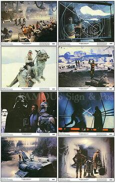 【映画スチール写真8枚セット】スター・ウォーズ5帝国の逆襲STARWARSグッズ/ディズニーインテリアアートロビーカード