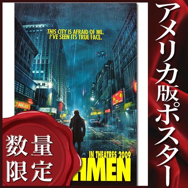 【映画ポスター】 ウォッチメン WATCHMEN グッズ /インテリア アメコミ おしゃれ フレームなし /ADV-両面