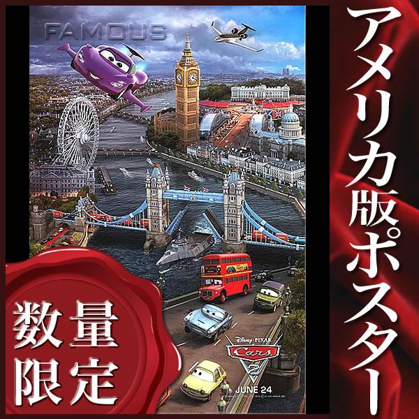 【映画ポスター】 カーズ2 (ディズニー グッズ) /ロンドン版 ADV-DS