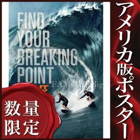 【映画ポスター】 X-ミッション Point Break /ハートブルー リメイク /インテリア おしゃれ フレームなし /ADV 両面
