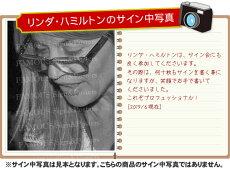 【直筆サイン入り写真】ターミネーターグッズサラ・コナーリンダ・ハミルトン/映画ブロマイドオートグラフ/フレーム別
