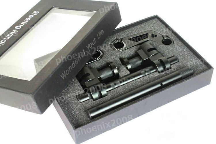 3920 アルミ セパハン セパレートハンドル アップ 22φ 22mm 黒