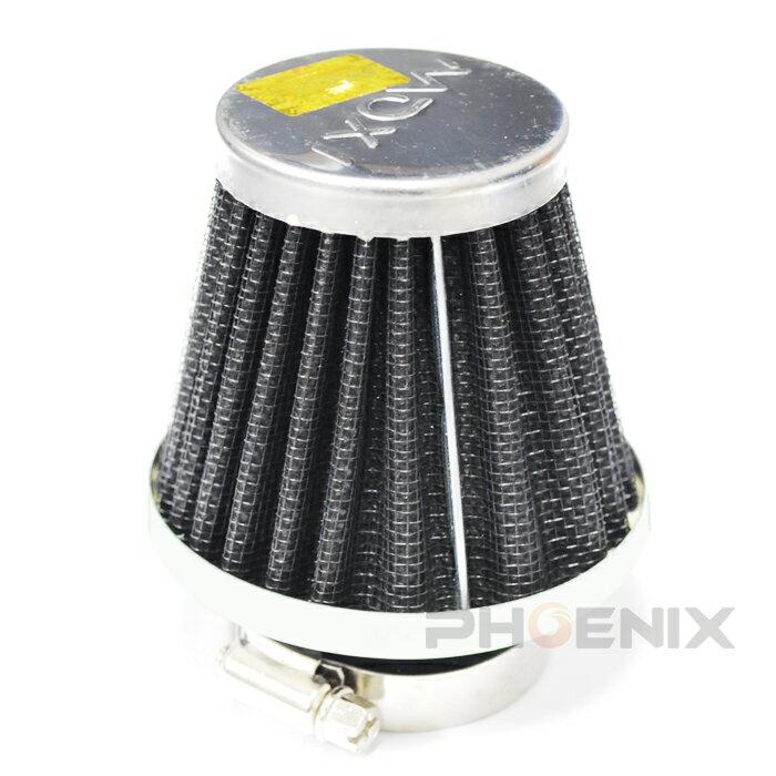 5114 バイク メッシュ パワーフィルター エアクリーナー エレメント キノコ型 ラウンド型 黒 35mm 35φ
