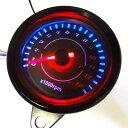 LED タコメーター 汎用 12V 電気式13000 配線説明有り APE モンキー ゴリラ DAX GSX250 ATV シャリー ダックス など 黒
