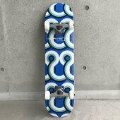 HEAVENスケートボード31×7.75ブルーレインボーコンプリートヘブンABEC7スケボースケートsk8SKATEBOARD