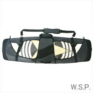 """ウエイクボードケース ウエイクソールガード W.S.P.ネオプレンウエイクボードケース 132-145cmフリーサイズ ブラック ウエイクサーフケース ウエイクスケートケースWAKE BOARD GUARD AD """"U"""