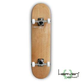 スケートボードコンプリート ヘブン スケボー Vitamin 31×7.625 HEAVEN PERFECT SKATE COMPLETEカラー:ナチュラル NATURAL1番人気のハイスペックモデル 1番人気のサイズ 高品質 カナディアンメープル訳あり特別価格