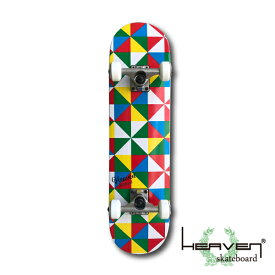 HEAVEN スケートボード 28.5×7.375 トライ ジュニア キッズ コンプリート ヘブン ABEC7 スケボー スケート sk8 SKATEBOARD 訳あり特別価格