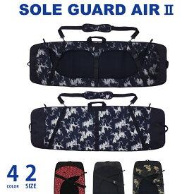 W.S.P. SOLE GUARD AIR 2 ソールガードエアー2 ウェイク用ソールガード Mサイズ 125〜137cm Lサイズ 136〜146cm ブラック ホワイトカモ グリーンカモ グラフィティ ウエイクボード カバー ウェイクボードケース