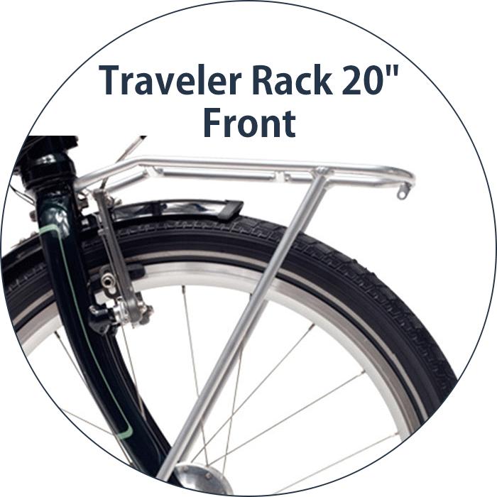 【送料無料】DAHON ダホン traveler rack 20 トラベラーラック ラック フロント キャリア 折りたたみ 自転車