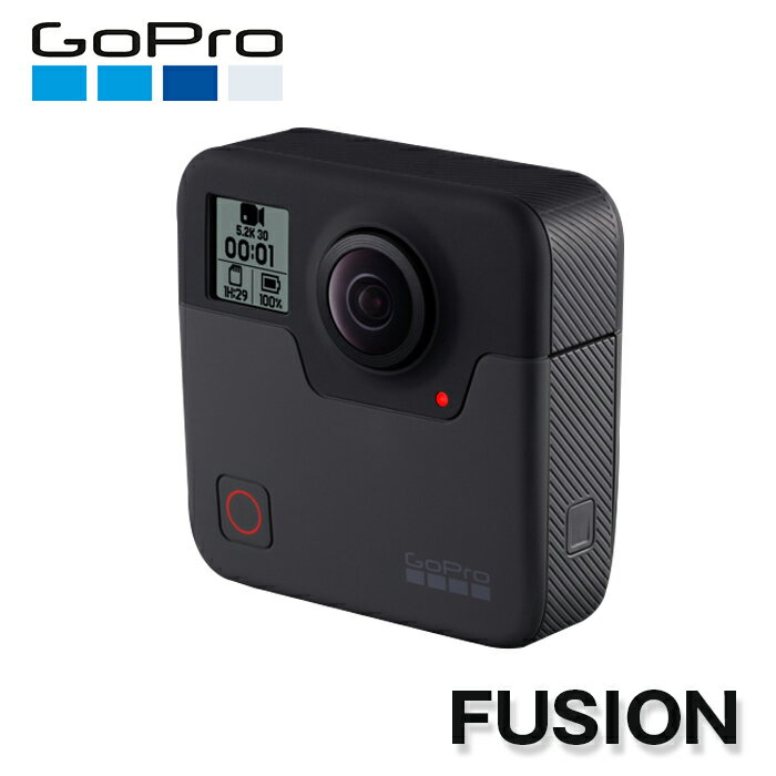 【土日もあす楽】 【送料無料】 GoPro(ゴープロ) FUSION(フージョン) ブラック アクションカメラ 360度カメラ 夜間撮影機能 CHDHZ-103-FW