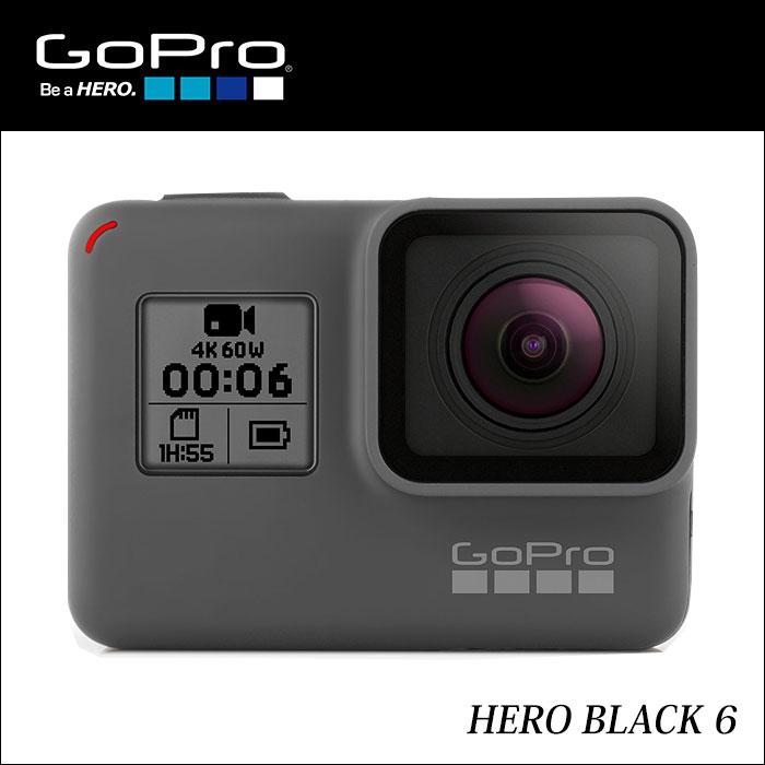 【土日もあす楽】【正規輸入品】【送料無料】 GoPro ウェアラブルカメラ HERO6 Black CHDHX-601-FW 4936080893453
