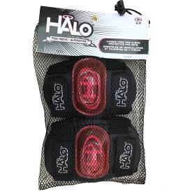【土日もあす楽】キックボード プロテクター ひじ ひざ 2点セット HALO ハロ プロテクター スケートボード キックボード エルボーガード ニーガード おすすめ 人気