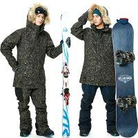 スノボウェアメンズレディースケランバクスタージャケットスノーボードウェアスキーウェア男女兼用大きいサイズ耐水圧CAMO柄BAXTERJKT9101
