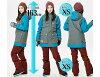 滑雪服装男女士 kerann 大通夹克滑雪板滑雪大大小男人和妇女联合抵抗凯兰大通 JKT 9103