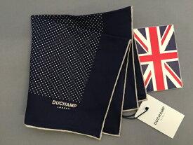 05df3d26d293c  あす楽対応  ポケットチーフ シルクチーフ フーラード メンズ 紳士 Silk 英国製 Duchamp