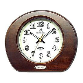 置き時計 日本製 北欧 木製 蓄光 おしゃれ ギフト プレゼント インテリア さんてる