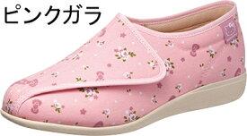 ASAHI アサヒコーポレーション 快歩主義 ハローキティ コラボモデル シューズ KHS KT L142 レディース リハビリシューズ 介護靴 日本製