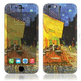 【お取寄せ】 iPhone6/6Plus/6s/6sPlus スキンシール DecalSkin [AT20/Cafe at Night] デコシール デコシート 背面シール iPhone 6 6Plus 6s 6sPlus iPhone6 iPhone6Plus iPhone6s iPhone6sPlus 送料無料