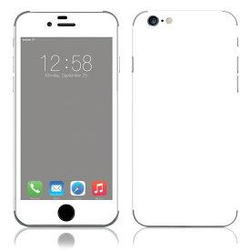 【即納】 iPhone6 6Plus 6s 6sPlus スキンシール DecalSkin [CP14 白 ホワイト ] デコシール デコシート 背面シール iPhone 6 Plus 6s Plus iPhone6Plus iPhone6s iPhone6sPlus 送料無料