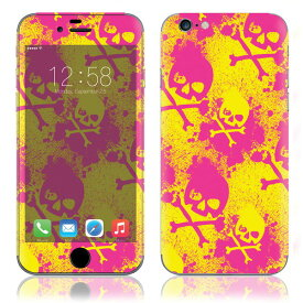 【お取寄せ】 iPhone6/6Plus/6s/6sPlus スキンシール DecalSkin [MT70/Skullicious] デコシール デコシート 背面シール iPhone 6 6Plus 6s 6sPlus iPhone6 iPhone6Plus iPhone6s iPhone6sPlus 送料無料