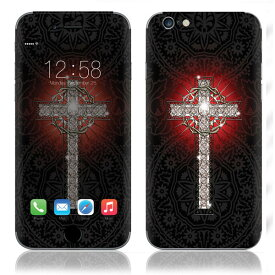 【お取寄せ】 iPhone6/6Plus/6s/6sPlus スキンシール DecalSkin [MT80/Bling Cross of Faith] デコシール デコシート 背面シール iPhone 6 6Plus 6s 6sPlus iPhone6 iPhone6Plus iPhone6s iPhone6sPlus 送料無料
