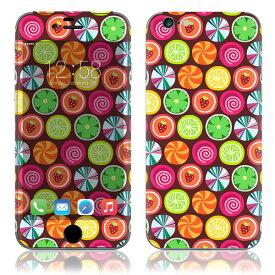 【お取寄せ】 iPhone6/6Plus/6s/6sPlus スキンシール DecalSkin [PA10/Candy Clover Strawberry Fruit] デコシール デコシート 背面シール iPhone 6 6Plus 6s 6sPlus iPhone6 iPhone6Plus iPhone6s iPhone6sPlus 送料無料