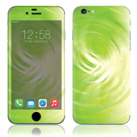 【お取寄せ】 iPhone6/6Plus/6s/6sPlus スキンシール DecalSkin [UA2A/Abstract Green] デコシール デコシート 背面シール iPhone 6 6Plus 6s 6sPlus iPhone6 iPhone6Plus iPhone6s iPhone6sPlus 送料無料
