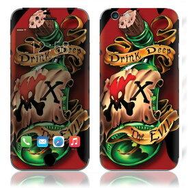 【お取寄せ】 iPhone6/6Plus/6s/6sPlus スキンシール DecalSkin [WL4/ボトル] デコシール デコシート 背面シール iPhone 6 6Plus 6s 6sPlus iPhone6 iPhone6Plus iPhone6s iPhone6sPlus 送料無料