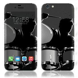 【お取寄せ】 iPhone6/6Plus/6s/6sPlus スキンシール DecalSkin [YU40/ドラム] デコシール デコシート 背面シール iPhone 6 6Plus 6s 6sPlus iPhone6 iPhone6Plus iPhone6s iPhone6sPlus 送料無料