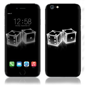 【お取寄せ】 iPhone6/6Plus/6s/6sPlus スキンシール DecalSkin [Z17/Crystal Dice] デコシール デコシート 背面シール iPhone 6 6Plus 6s 6sPlus iPhone6 iPhone6Plus iPhone6s iPhone6sPlus 送料無料