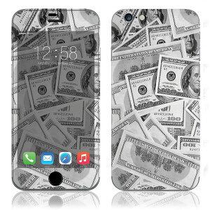 【iPhone6/6Plus】スキンシールZ4/ドル札【即納】[アイフォンアイフォーンアイホン]かわいい/人気/おしゃれ/デコ/ステッカー/スマホ/保護/シート/シール/背面/iphone6plus/カバー/ケース