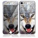 【iPhone7/7Plus】スキンシール AN21/ウルフ 狼 オオカミ【お取寄せ】[アイフォン アイフォーン アイホン] かわいい/人気/おしゃれ/デコ/ス...