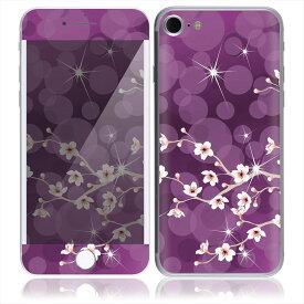 【お取寄せ】 iPhone7 7 Plus スキンシール DecalSkin [BF29/Cherry Blossom] デコシール デコシート 背面シール iPhone 7 7Plus iPhone7Plus 送料無料