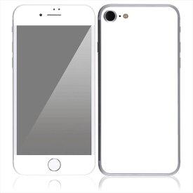 【即納】 iPhone7 7 Plus スキンシール DecalSkin [CP14 白 ホワイト ] デコシール デコシート 背面シール iPhone 7 7Plus iPhone7Plus 送料無料